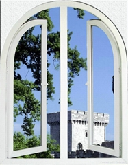 High quality pvc casement window made in China