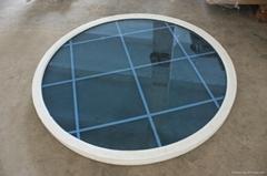 pvc round window fixed window