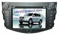 Toyota RAV4 Car DVD Player with GPS navigation