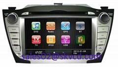 Hyundai IX35 Car DVD Player with GPS Navigation