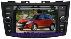 Suzuki Swift Car DVD Player with GPS Navigation