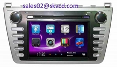 Mazad 6 Car DVD Player with GPS Navigation