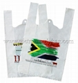 T-shirt handle plastic bag