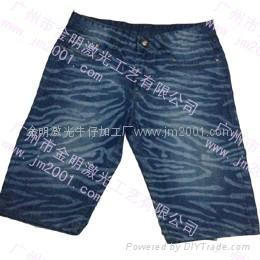 牛仔褲加工 2
