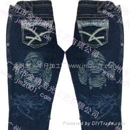 牛仔褲加工 5