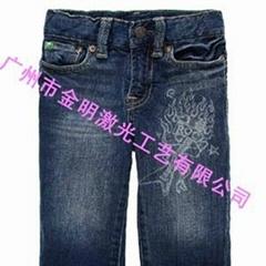 牛仔裤加工