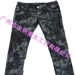 牛仔褲印花 4