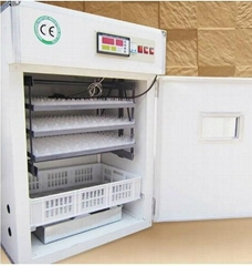 CE Marked Automatic Poultry Small Chicken Egg Incubators 264 Chicken Eggs