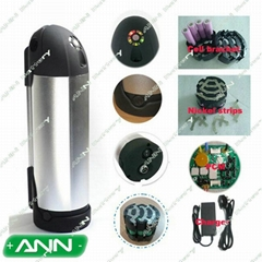 electric bicycle battery 36v 10ah water kettle battery