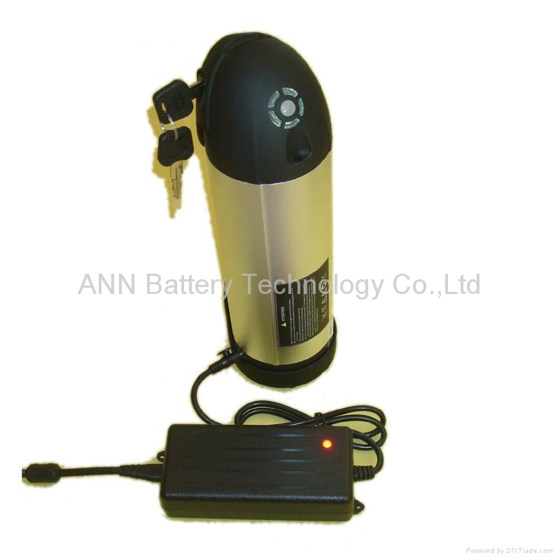 electric bicycle battery EB2408SH 24v 8ah LiFePO4 battery water bottle battery 1