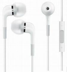 苹果4s耳机线控带调音耳机