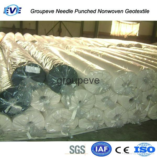 Needle Punched Nonwoven Geotextile 4