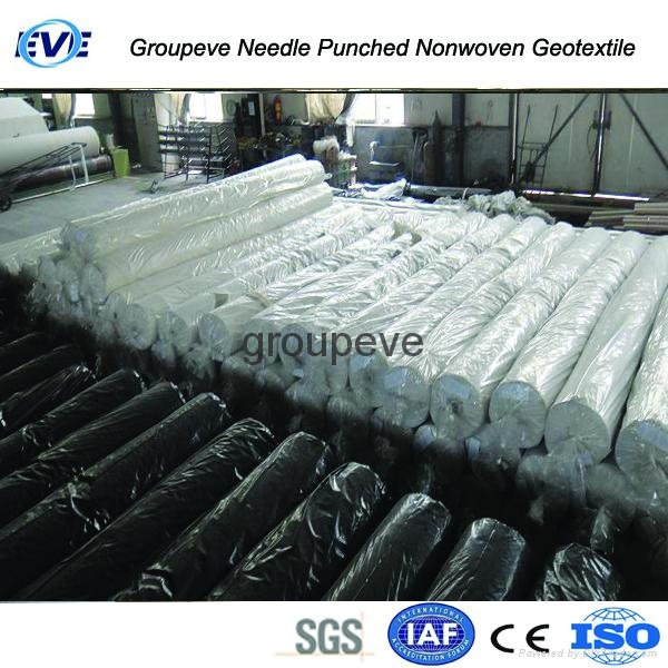 Needle Punched Nonwoven Geotextile 5