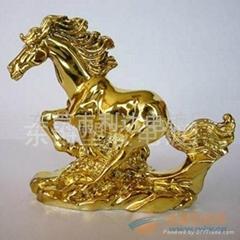裝飾件鍍金