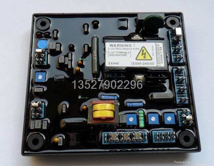 AS440发电机电子调压板 3