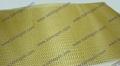 Fiberglass mesh filter for molten aluminum filtration