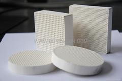 Extruded ceramic filter-honeycomb ceramic filter