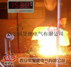 熔炼连续测温仪
