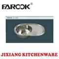 round single bowl kitchen sink with