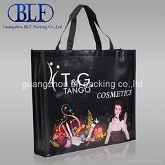PP laminated printed non woven shopping bag