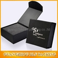 magnetic closure black cardboard paper