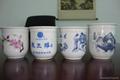 北京125ml青花瓷白酒杯