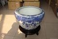 北京陶瓷大鱼缸风水大缸 1