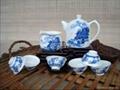 北京8头手绘陶瓷茶具