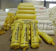 Glass Wool Insulation Roll With CE SGS