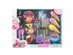 38PCS CAKE & ICECREAM PLAYSET