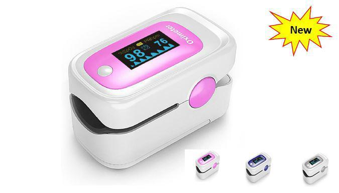 New OLED Fingertip Pulse Oximeter 1