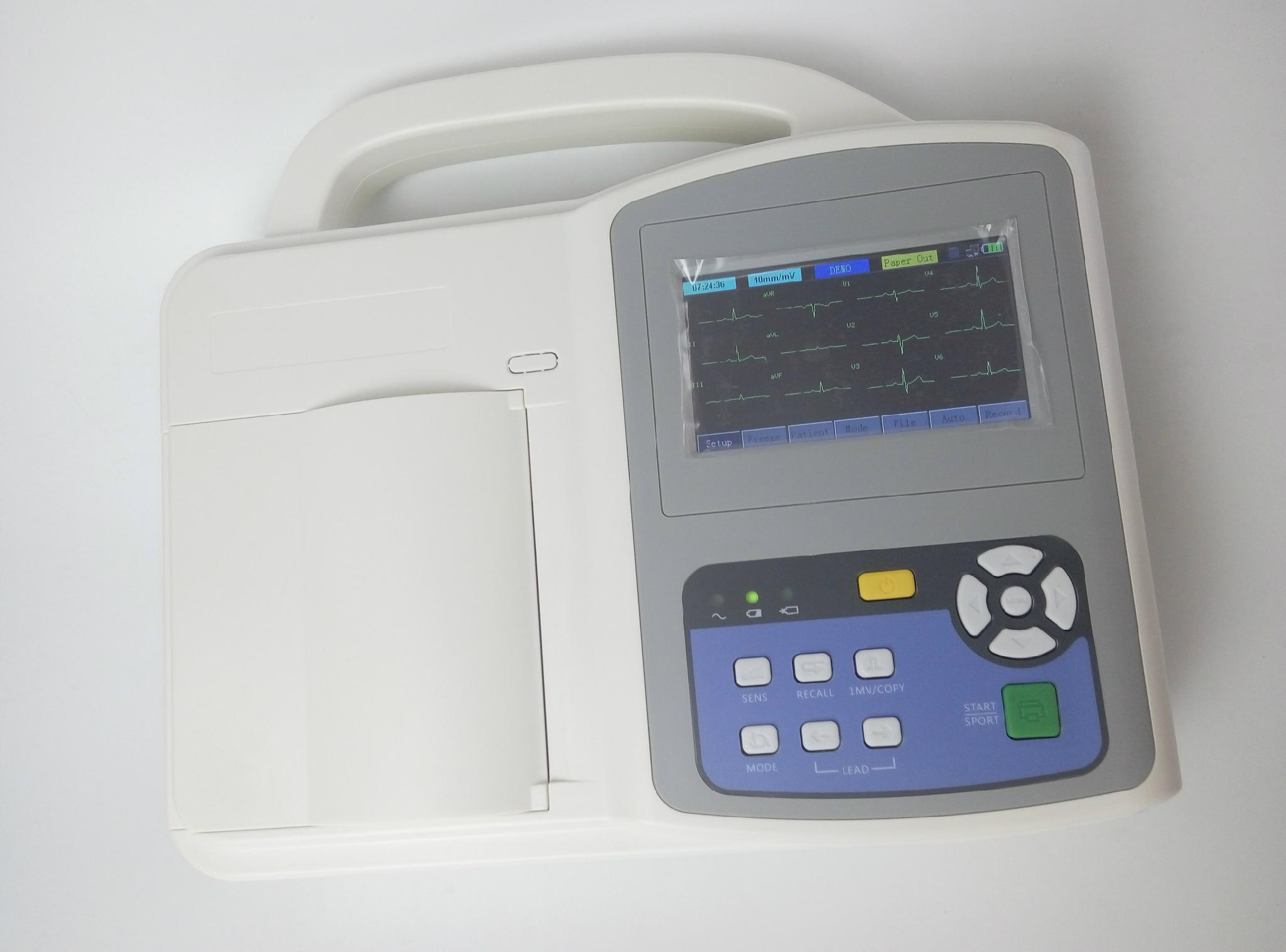 Three Channel ECG Machine 1