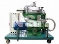 Centrifugal oil separator purifier