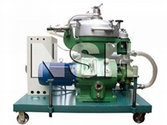 Centrifugal oil separator purifier