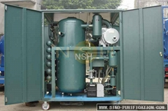 Double Stage High Efficiency Vacuum Transformer Oil Purifier