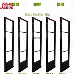 factory sale EAS seurity door system with RF technology for cloth store,chain sh