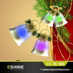 Bell shape led light for special holiday decoration (Music optional)