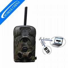 12MP MMS scouting trail camera 24 count red flash infrared GSM Email hunting cam