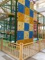儿童攀爬異形網設備 3