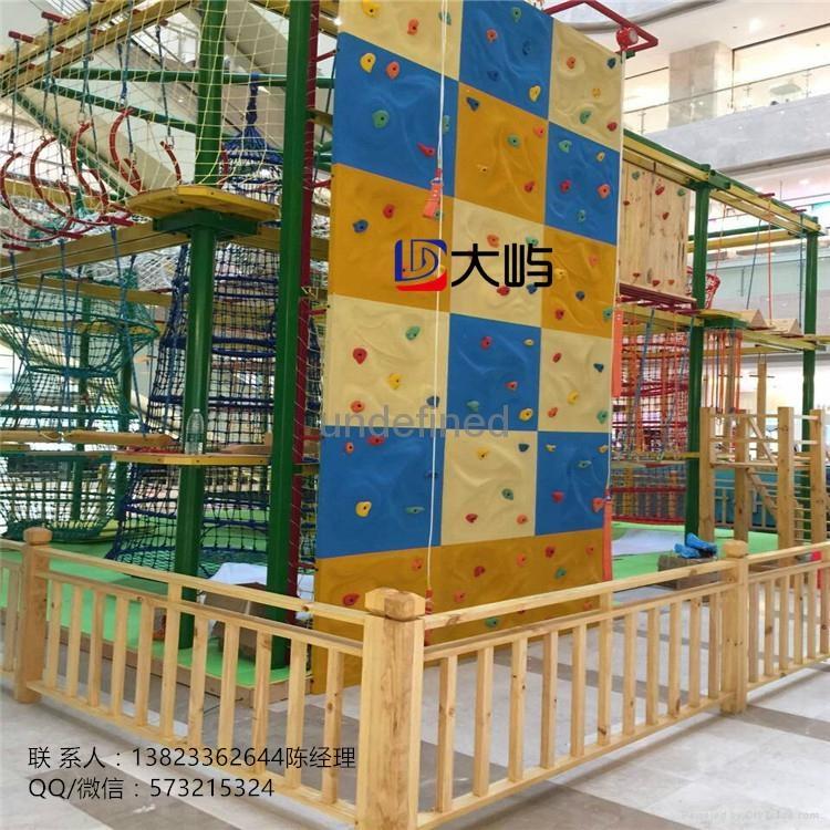 廣東儿童拓展攀登架攀岩牆設備 1