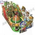 室內儿童遊樂園淘氣堡設備