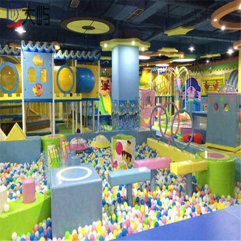 室內儿童遊樂園淘氣堡設備 1