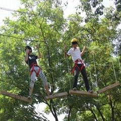 户外丛林拓展攀登游乐设备
