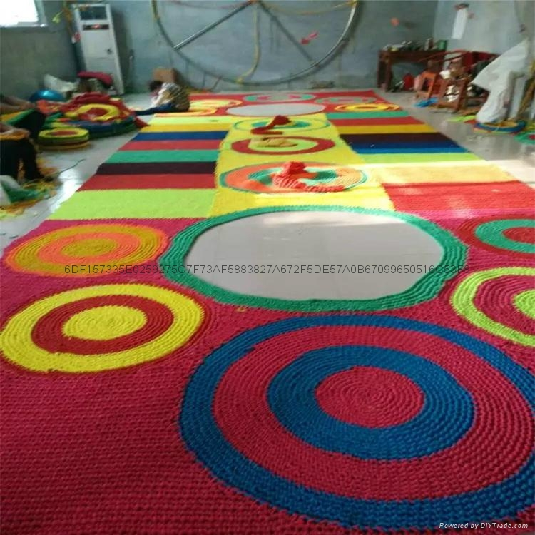 室內儿童樂園彩虹網設備 1