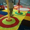 空中彩色繩網遊樂設備 2