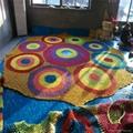室內儿童樂園彩虹網設備 5