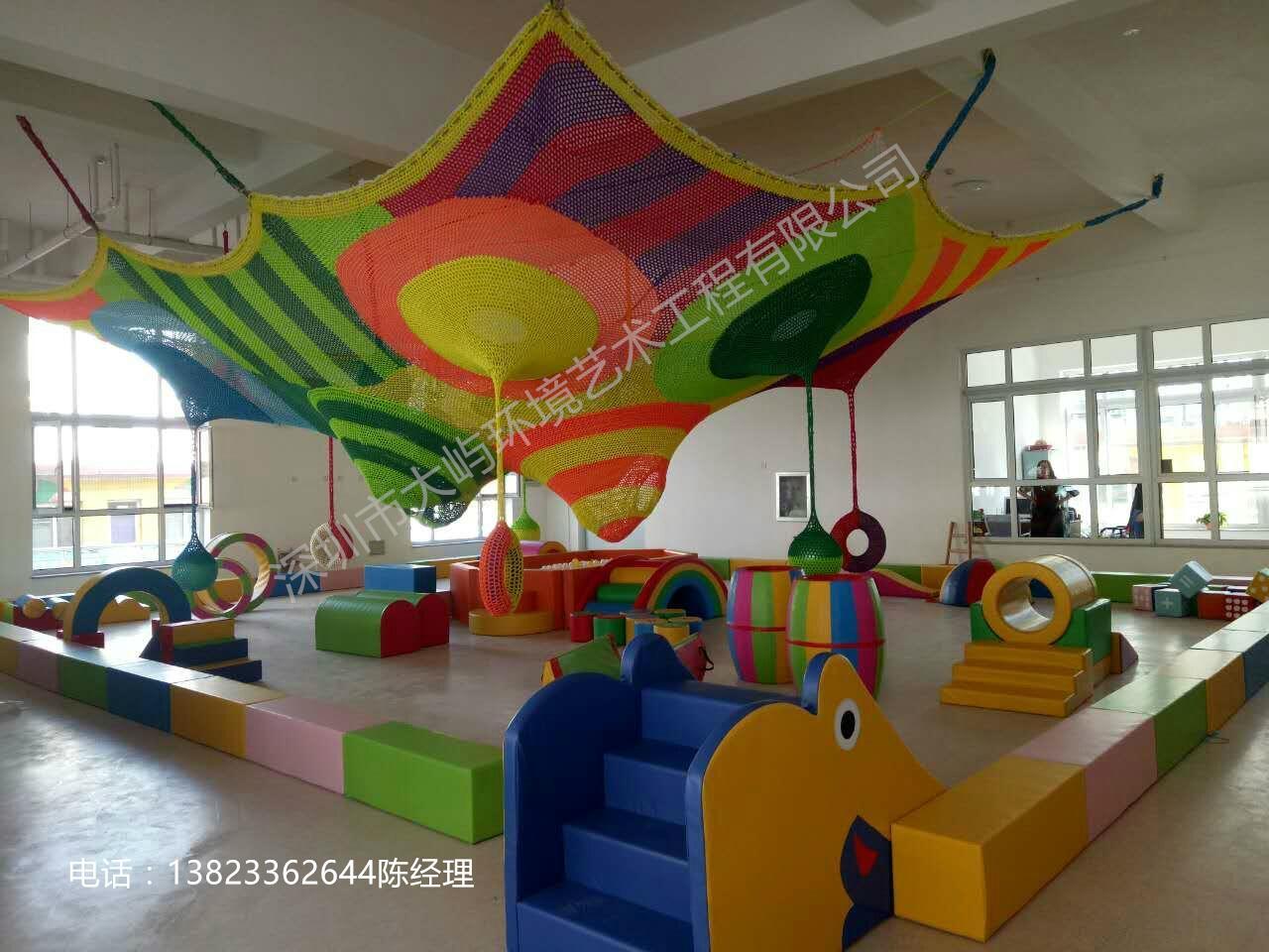 彩虹網儿童攀爬網 3