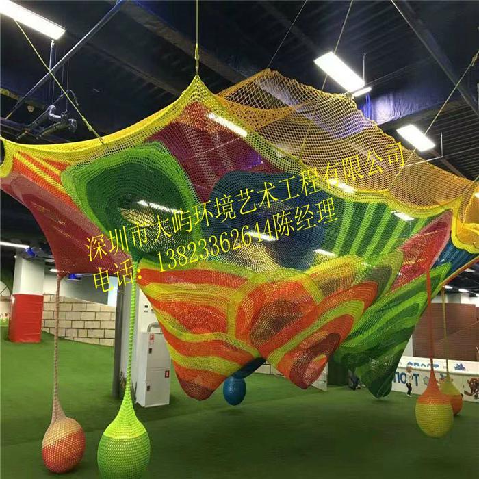 彩虹網儿童攀爬網 4