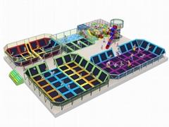 儿童大蹦床訓練遊樂設備