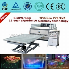 Fangding Glass laminating machine with CE certificate